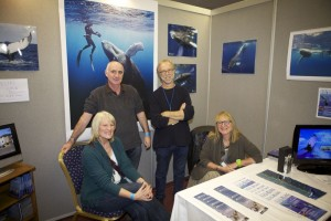 Conscious Breath Adventures guests at Whalefest 2012