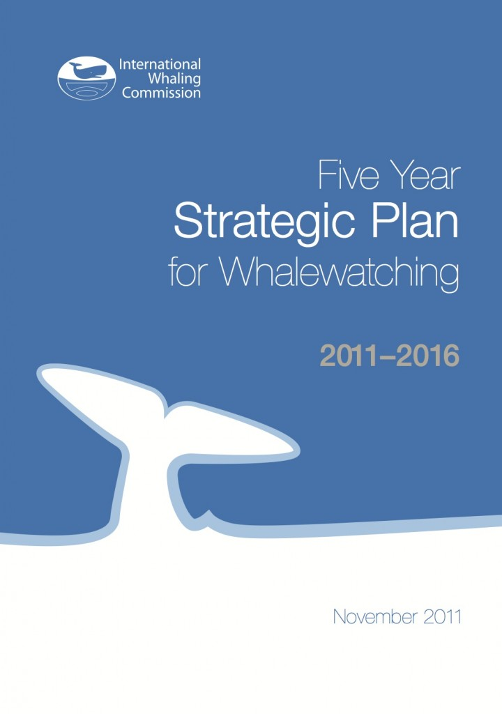 The IWC Five Year Strategic Plan for Whalewatching