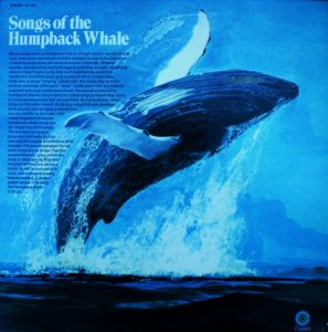 "Album cover for ""Song of the Humpback Whale"""